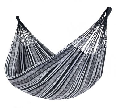 Hamaca Doble 'Comfort' Black White