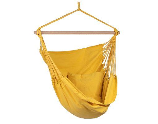 Hamaca-silla Individual 'Organic' Yellow